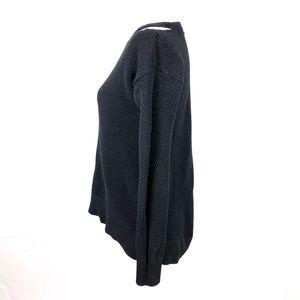 Michael Kors Sweaters - Michael Kors Black Neck Cold-Shoulder Sweater